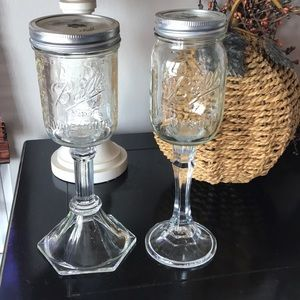 """Redneck"" wine glasses"